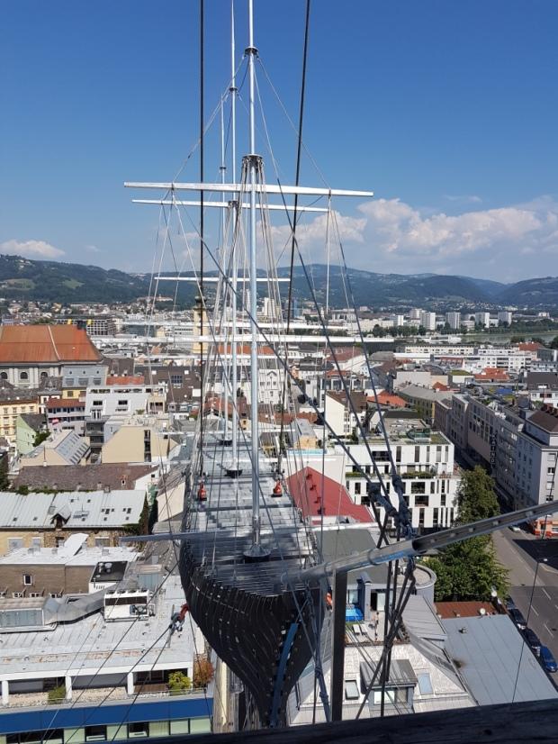 Höhenrausch Linz Flying Ship 2018 komp